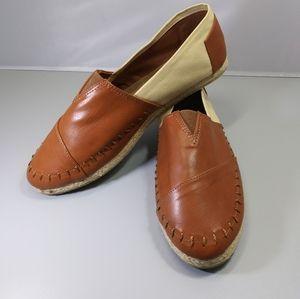 Sophie Sue Espadrille Slip On Shoes Size 9